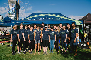 physioflex team photo gold coast physio
